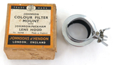 2 VINTAGE CAMERA ACCESSORIES by JOHNSONS, HENDON, UK. AUTOCLIP & FILTER MOUNT.