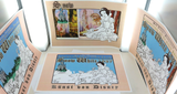 SCARCE JOB LOT THE ART DISNEY / SNOW WHITE 70TH ANNIVERSARY GERMAN POSTERS #2