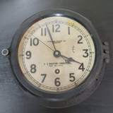 1940's WWII Era CHELSEA U.S. MARITIME COMMISSION SHIP CLOCK-
