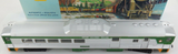 ATHEARN HO SCALE LONG BRITISH COLUMBIA RAILWAY POWERED ? PASSENGER CAR + BOX