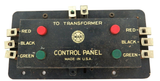 RARE VINTAGE MAR TOYS FRONT SECTION FOR CONTROL PANEL TRANSFORMER.
