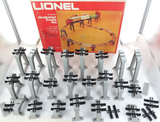 c1970s LIONEL O SCALE 027 6-2110 GRADUATED PLASTIC TRESTLE SET / PART SET.