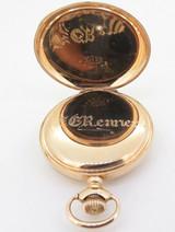 C.1899 Waltham 14K Multicolour Gold 11 Jewel 6s Pocket Watch