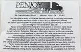 2003 PENJOY COLLECTORS CLUB BLACK DUMP TRUCK / SNOW PLOW. 1:64. MIB
