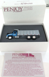 2002 PENJOY CONSTRUCTION Co LIMITED EDITION 1 of 75 BLUE DUMP TRUCK. 1:64. MIB