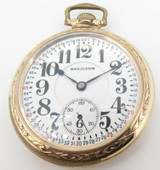 1926 Hamilton 23 Jewel G/FOF Railroad 950 16s Pocket Watch Elgin Giant Swingout