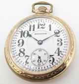 1926 Hamilton 23 Jewel G/FOF Railroad 950 16s Pocket Watch Elgin Giant Swingout
