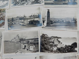 NEW ZEALAND. c1940s AUCKLAND REAL PHOTO POSTCARDS / TOURIST / SOUVENIR CARDS