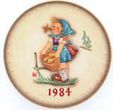 1984 HUMMEL GOEBEL HUM 277 14TH ANNUAL PLATE.