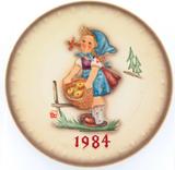1984 HUMMEL GOEBEL HUM 277 14TH ANNUAL PLATE.