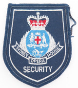 OBSOLETE SYDNEY OPERA HOUSE SECURITY CLOTH PATCH.