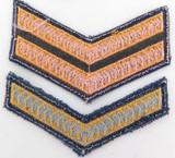 OBSOLETE TASMANIA POLICE RANK PATCHES