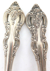 """1964 SUPERB MATCHING SET 12 TOWLE """"EL GRANDEE"""" STERLING SILVER FRUIT SPOONS."""