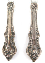 "1960s USA TOWLE ""EL GRANDEE"" PATTERN STERLING SILVER HANDLES SMALL SERVERS."