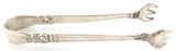 "c1939 INTERNATIONAL SILVER ""ROYAL DANISH"" PATTERN STERLING SILVER TONGS."