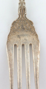 "1973-2009 WALLACE ""GRAND VICTORIAN"" PATTERN STERLING SILVER LARGE SERVING ? FORK"