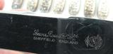 1888 SET 12 STERLING SILVER LARGE DINNER KNIVES, UNKNOWN USA MAKER