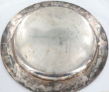 1928 TIFFANY & Co STERLING SILVER LARGE ROUND TRAY. 830g