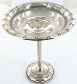 SUPERB VINTAGE USA WEBSTER STERLING SILVER COMPOTE.
