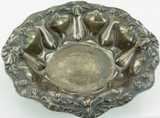 SUPERB / ANTIQUE / VERY DECORATIVE ALVIN STERLING SILVER LARGISH REPOUSSE BOWL.