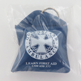 """QUEENSLAND QLD AMBULANCE PROMOTIONAL """"LEARN FIRST AID"""" POUCH, MINT UNOPENED."""