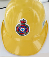 1997 OBSOLETE QLD AMBULANCE HARD HAT IN GREAT CONDITION.
