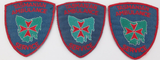 3 DIFFERENT / OBSOLETE TASMANIAN AMBULANCE SERVICE LARGE PATCHES.