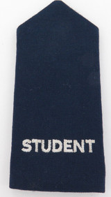 SCARCE OBSOLETE QLD AMBULANCE STUDENT EPAULETTE. NICE CONDITION.