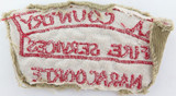RARE / OBSOLETE SOUTH AUSTRALIAN S.A. COUNTRY FIRE SERVICES NARACOORTE ARM PATCH