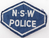 SCARCE / OBSOLETE NSW POLICE SHOULDER PATCH.