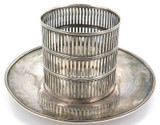 < 1929 USA BAILEY BANKS & BIDDLE STERLING SILVER POT POURRI BY WILCOX & WAGONER.