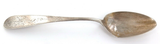 LATE 1800s GERMAN .800 SILVER / ENGRAVED HANDLE TABLESPOON