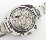 Vintage Girard Perregaux GP Olimpico 3 Reg Chronograph Cal27-0 Steel Watch 9238