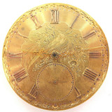 ANTIQUE HIGH GRADE KEY WIND MENS POCKET MOVEMENT, GREAT DIAL