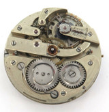 ANTIQUE UNBRANDED HIGH GRADE 16S POCKET WATCH MOVEMENT & DIAL.