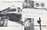 """SCARCE SEPTEMBER 1953 SHELL OIL COMPANY """"SHELL NEWS"""" LARGISH MAGAZINE."""