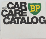 1972 THE BP MISER'S CAR CARE CATALOG BOOKLET. GREAT CONDITION !!