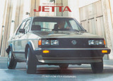 1984 VOLKSWAGEN JETTA LARGE COLOUR BROCHURE.