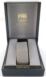 RARE 1996 AUSTRALIAN OLYMPICS SEIKO MENS WATCH DISPLAY BOX. NICE CONDITION.