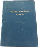 SUPER RARE PATEK, PHILIPPE 1950s CATALOGUE / MANUAL / PARTS incl OLD CALIBRES.