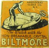 ORIGINAL c1930's ARISTOCRAT Co, BILTMORE POCKET WATCH BOX.
