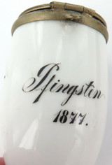 EX ESTATE 1877 PFINGSTEN (PENTECOST), GERMANY PORCELAIN PIPE.