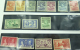 EXCELLENT LOT 1930s & 1940s MINT NH / VLH BASUTOLAND KGVI STAMPS 1/- to 1d.