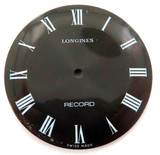 """NICE LARGE LONGINES NOS UNUSED """"RECORD"""" MENS WATCH DIAL. 30mma"""