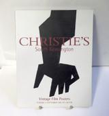 Christies South Kensington Vintage Film Posters Auction Catalogue, 4 Sept 2001