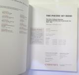 Christies Sth Kensington Poetry of Crisis, Peter Nahum Catalogue, 15th Nov 2006