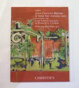 Christies London 20th Century British & Irish Art Auction Catalogue, Nov 2011