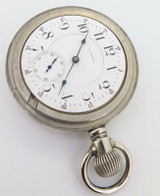 1907 Waltham Bartlett 18s 17 Jewel Two Tone Movement Pocket Watch