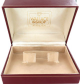 VINTAGE WALLACE BISHOP MENS WATCH DISPLAY BOX.