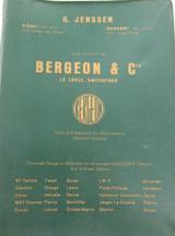 SCARCE / c1959 BERGEON & Co (G JENSSEN, SYDNEY & BRIS) PARTS & TOOLS CATALOGUE.